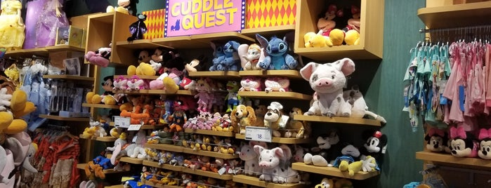 "Disney store is one of My ""Bucket list""."