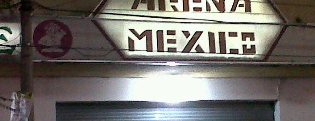 Arena México is one of (MEX).