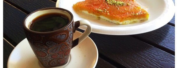 Knafeh cafe is one of Socal.