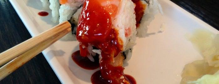 Maru Maki Sushi is one of LA.