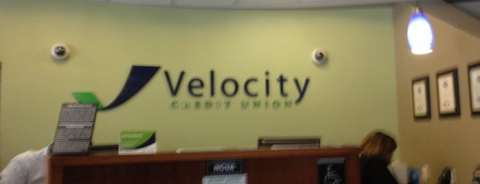 Velocity Credit Union is one of Greg'in Beğendiği Mekanlar.