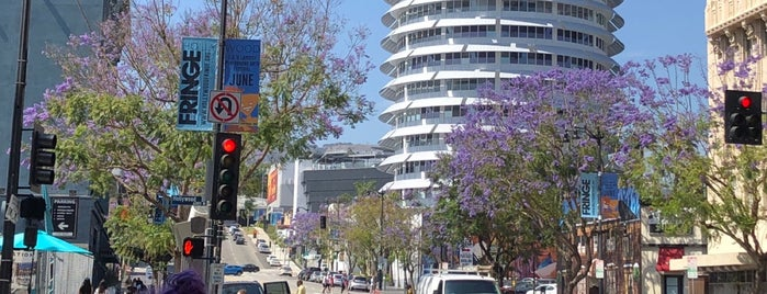 Capitol Records is one of LA baby.