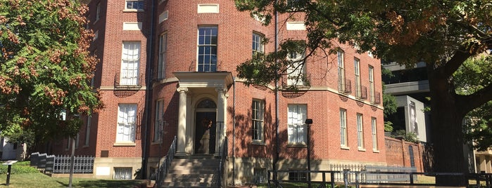 The Octagon House is one of Washington DC.