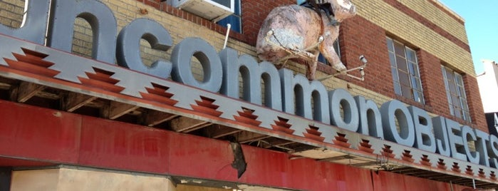 Uncommon Objects is one of Keith comes to Austin.