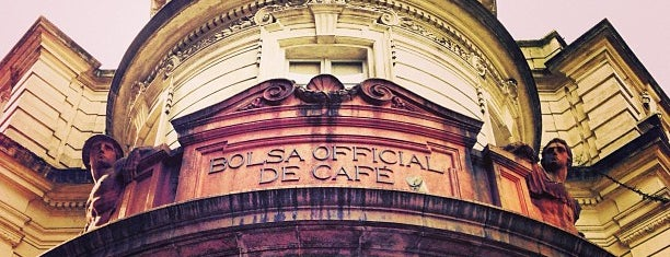 Museu do Café - Edifício da Bolsa Oficial de Café is one of Locais salvos de George.