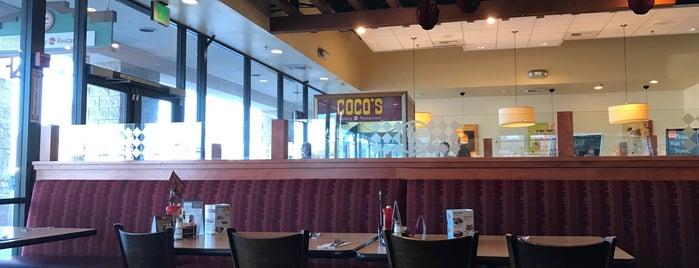 Coco's Restaurant & Bakery is one of Lugares favoritos de Stephen.