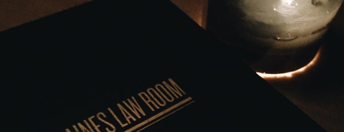 The Raines Law Room is one of Drink Cocktails - NYC.