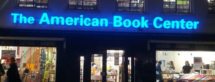 The American Book Center is one of Amsterdam.