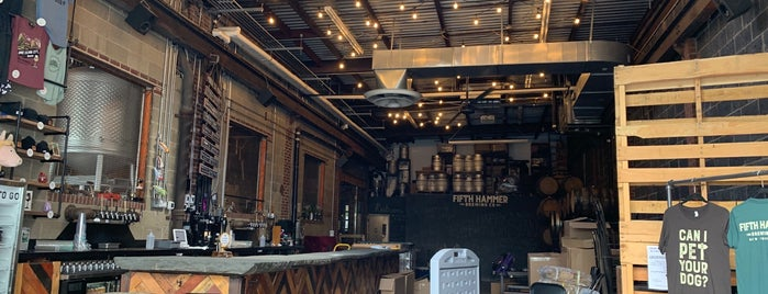 Fifth Hammer Brewing Company is one of Where to Drink Beer.