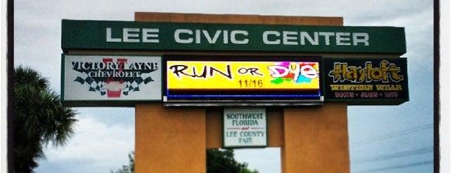 Lee Civic Center is one of Tempat yang Disukai LIVE.