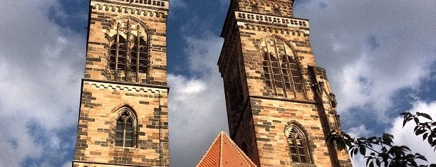 St. Sebald is one of Nuremberg's favourite places.