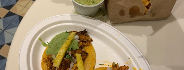 Los Tacos Al Pastor is one of New Hood.