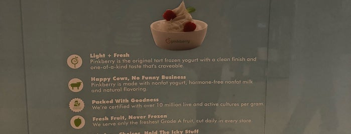Pinkberry is one of Lugares favoritos de Samah.