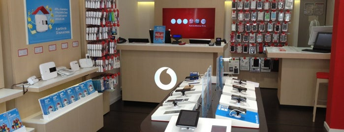 Vodafone Store is one of 4sq.