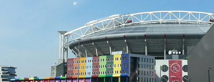 Johan Cruijf Arena is one of The Netherlands.