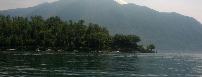 Isola Comacina is one of Posti che sono piaciuti a Mujdat.