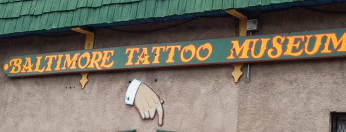 Baltimore Tattoo Museum is one of The Great Baltimore Check In 2012.