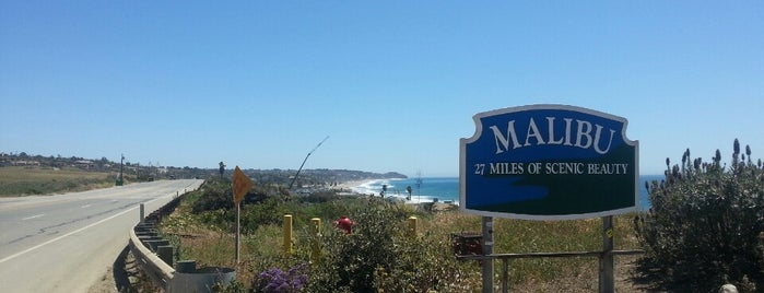City of Malibu is one of Socal.