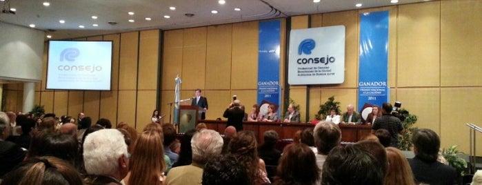 Consejo Profesional de Ciencias Económicas de la Ciudad Autónoma de Buenos Aires is one of Lugares favoritos de Any.