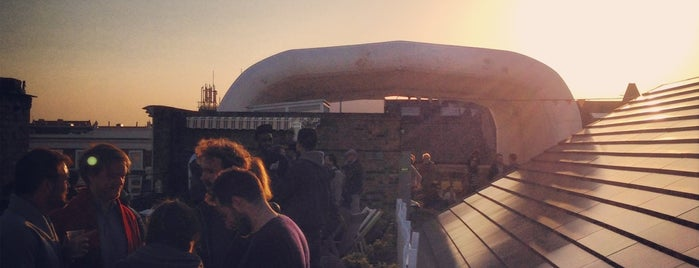 Dalston Roof Park is one of East London.