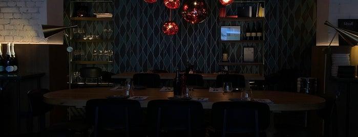 MINE restaurant / WINE bar is one of Tempat yang Disukai Irakli.
