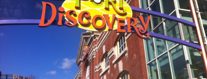 Port Discovery Children's Museum is one of Locais curtidos por Adam.