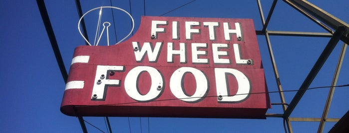 Fifth Wheel is one of Places to try.
