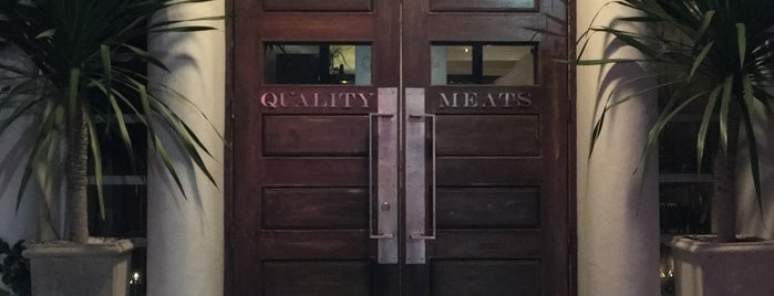 Quality Meats Restaurant is one of Lugares favoritos de Stefanie.