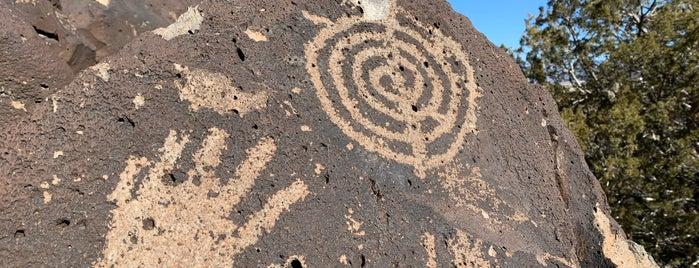 La Cieneguilla Petroglyph Site is one of New Mexico.