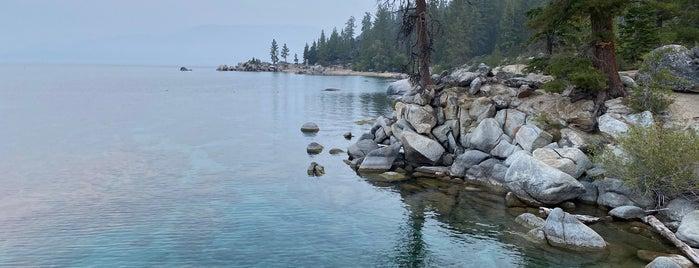 Secret Cove is one of Tahoe.
