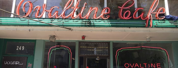Ovaltine Café is one of Vancouver Diners.