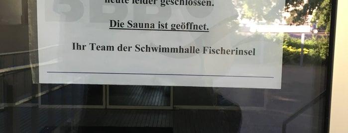 Schwimmhalle Fischerinsel is one of no food, no bars.