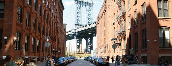 Ponte di Manhattan is one of A Walk Through Historic DUMBO.