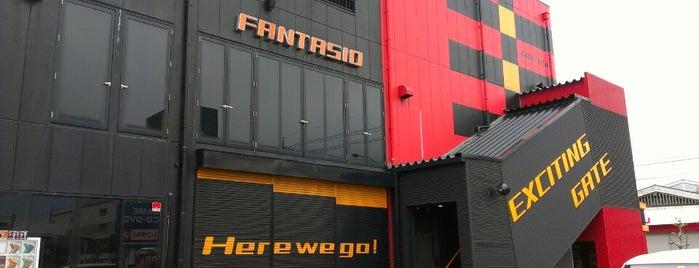 ファンタジオ is one of REFLEC BEAT colette設置店舗@北陸三県.