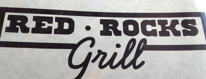 Red Rocks Grill is one of Locais curtidos por Brook.