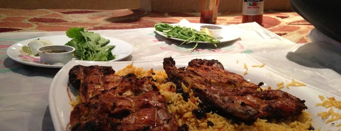مطعم الحمراء البخاري is one of Baha : понравившиеся места.