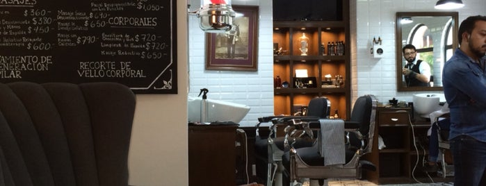 The Barber's Spa México (Polanco Platinum) is one of Locais salvos de A.