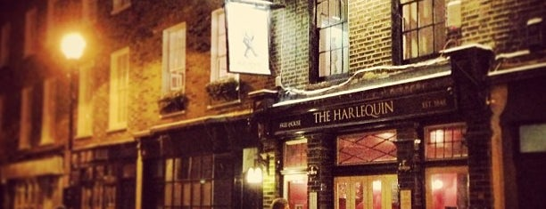 The Harlequin Pub is one of London's Best Pubs (voted by Londonist readers).