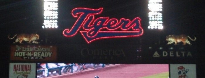 Comerica Park is one of MLB.