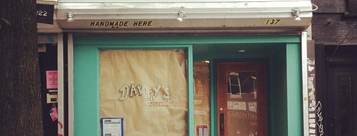 Davey's Ice Cream is one of New York, New York!.