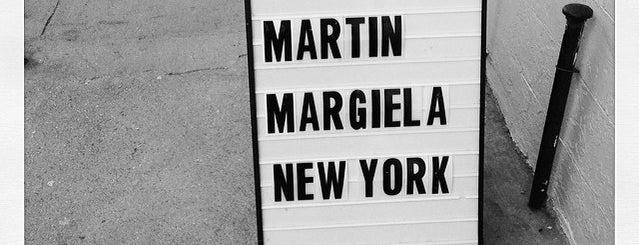 Maison Margiela is one of NYC —Shops.