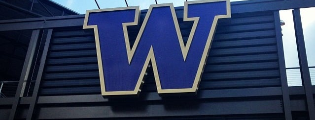 Alaska Airlines Field at Husky Stadium is one of Washington.