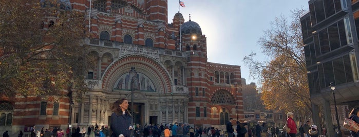 Westminster Cathedral Piazza is one of London 2018.