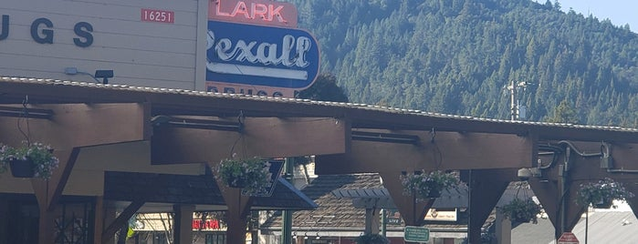 Lark Rexall Drugs is one of Neon/Signs N. California 2.