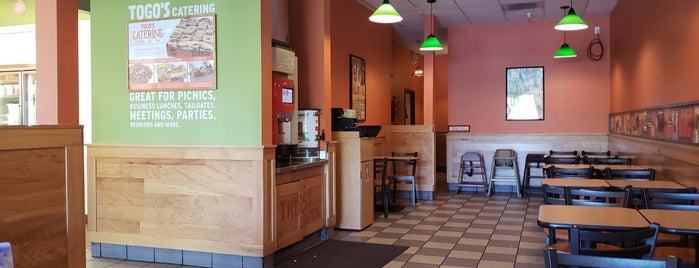 TOGO'S Sandwiches is one of Orte, die Leigh gefallen.