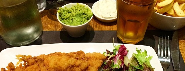 Oliver's Fish and Chips is one of London.