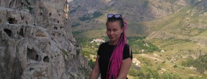 Vardzia Cave Monastery | ვარძიის სამონასტრო კომპლექსი is one of สถานที่ที่ Aleksandra ถูกใจ.