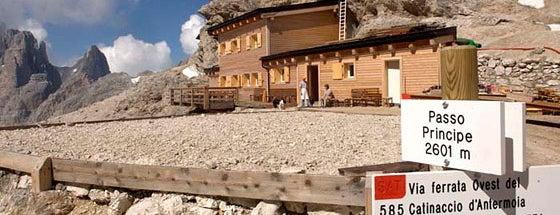 Rifugio passo Principe is one of Attività per sportivi.