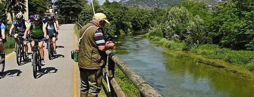 Percorso ciclopedonale Garda trentina - Basso Sarca is one of #trekkingdelbenessere.