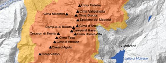 Dolomiti di Brenta is one of #luoghidelbenessere.
